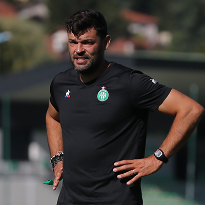Ruben Martinez, Professional Football Coach, former assistant coach including at, St. Etienne, FC Barcelona, and Olympiacos